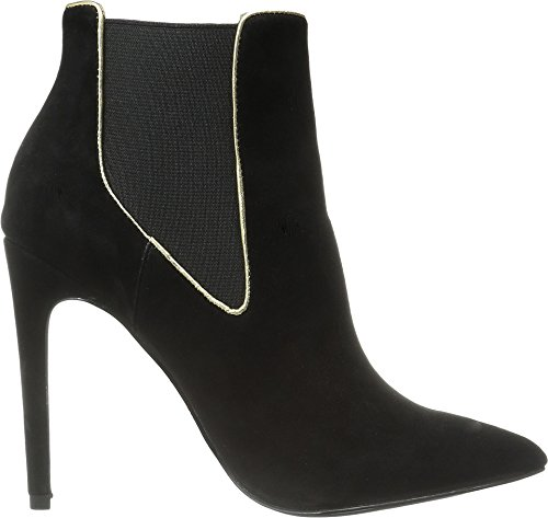 Just Cavalli Womens High Heel Ankle Boot W/Piping Black c3iNg1