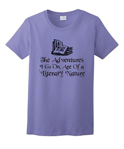 Adventures Literary Nature Ladies T Shirt
