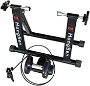 AKOZLIN Bike Trainers Magnetic Bike Bicycle Exercise Trainer Stand Foldable Converter with Noise Reduction Whe
