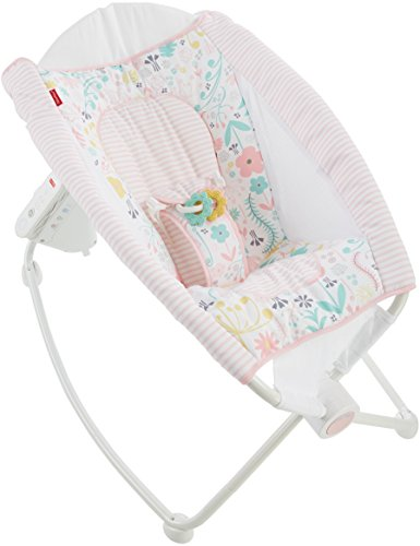 Fisher-Price Auto Rock 'n Play Sleeper, Pink/Floral