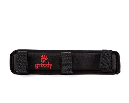 Grizzly Large SUPER PADDED SHOULDER PAD to reduce stress and pain carrying heavy bags for Tools, Tote, HVAC, Mechanics, Contractor Traytote, Plumbers, Carpenters, Builders. Soft, Squishy Comfort
