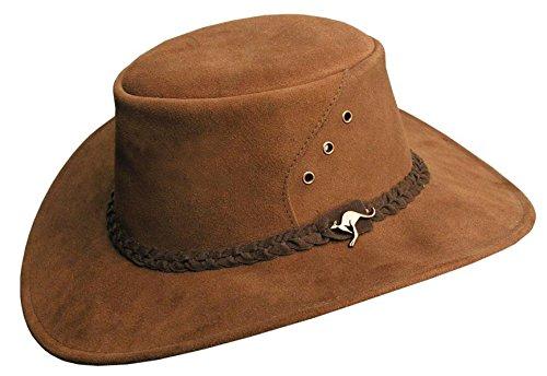 Australia Traders Marrón Sombrero Kakadu Cowboy Para Hombre 5FaxzaP