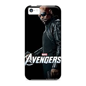 New Premium Flip Case Cover The Avengers Nick Fury Skin Case For Iphone 5c