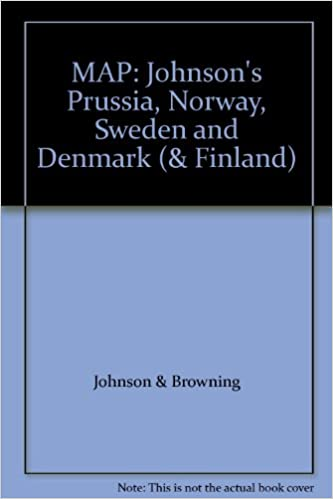 MAP Johnsons Prussia Norway Sweden And Denmark Finland - Norway map amazon