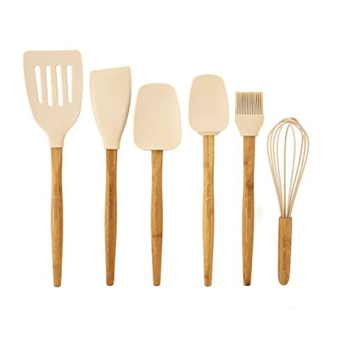Viable Creations Silicone & Bamboo Baking Tools-Set of 6