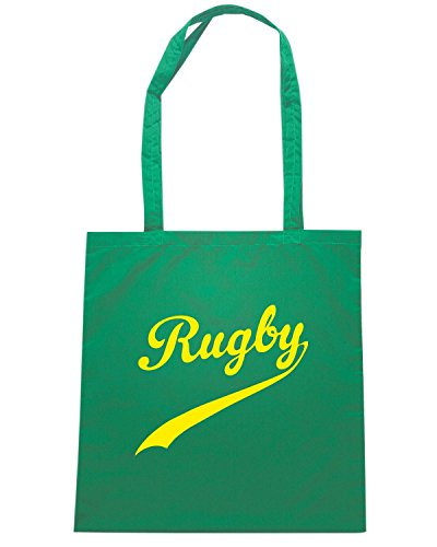 T-Shirtshock - Bolsa para la compra TRUG0181 ruggershirts beach rugby logo Verde