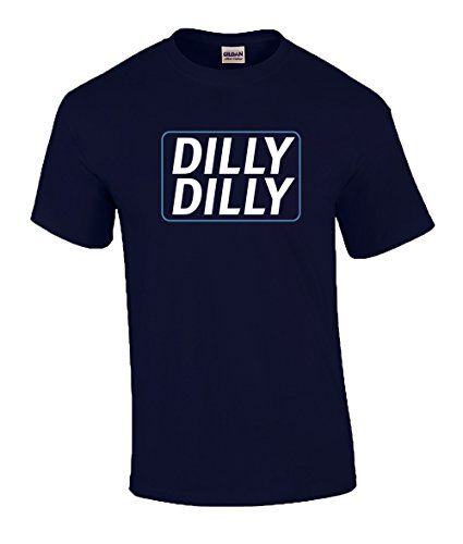 Trenz Shirt Company Funny Beer Drinking Dilly Dilly Adult Short Sleeve T-shirt-Navy-4xl