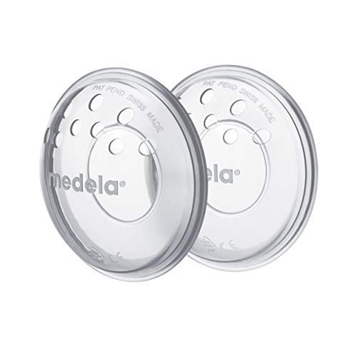 Medela SoftShells Breast Shells for Sort Nipples for Pumping or