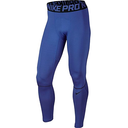 Nike Mens Pro Hyperwarm Training Tights Game Royal/Black SZ Large by NIKE