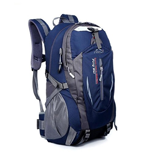 Backpack Waterproof Men's Back Pack Laptop Mochila Backpacks Deep Blue ()