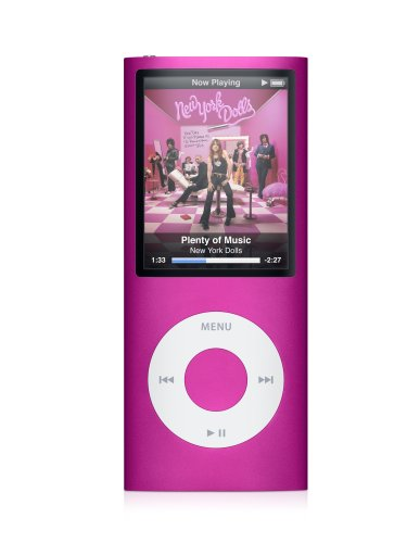[Apple iPod nano 8 GB Pink (4th Generation)  (Discontinued by Manufacturer)] (Ipod Nano 8 Gb Pink)