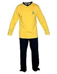 Star Trek The Original Series Command Kirk Uniform Pajama Set   XL
