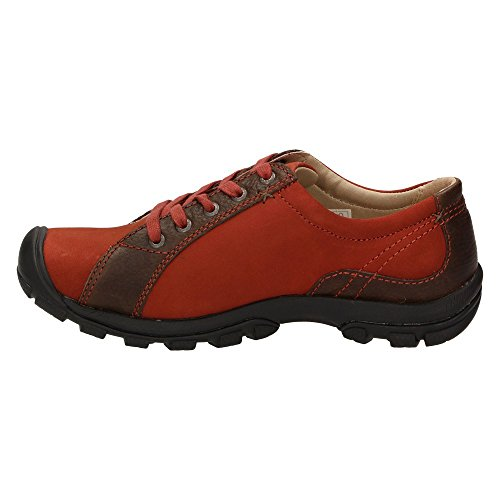 il colore Slip Sisters lacci libero semi donna per nero On Rosso Rosso Keen tempo chiuseuomo scarpa scarpa marrone senza Pwq4q65