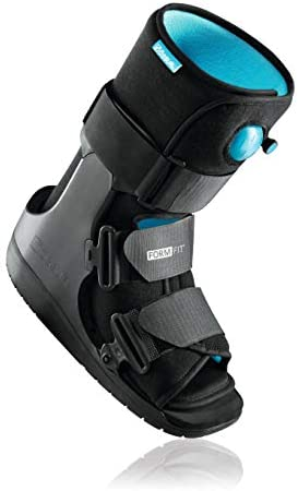 Ossur Formfit Walker Boot with Air (Low Top) - Medical Grade Fracture Boot Immobilization for Strains, Sprains & Stable Fractures with Patented Pneumatic Technology to Decrease Pain & Swelling (Low Top, Medium)