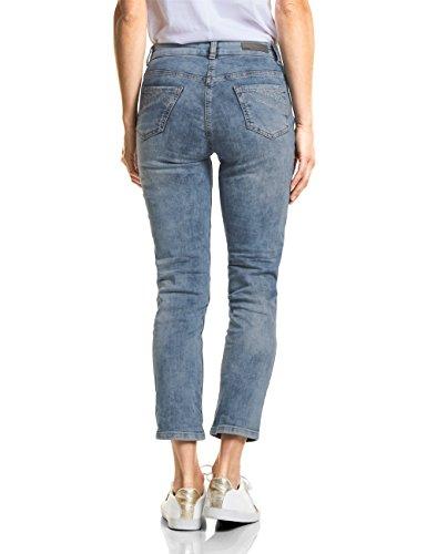 10275 Slim Donna Wash Mid Used Blue authentic Cecil Blau Jeans zPnqwaPA