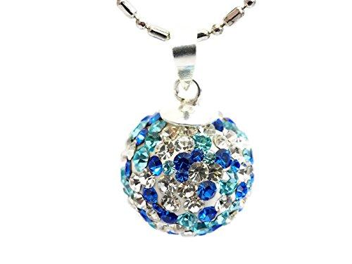 Ferido crystal ball in Multi blue tone c - Multi Family Downrod Shopping Results