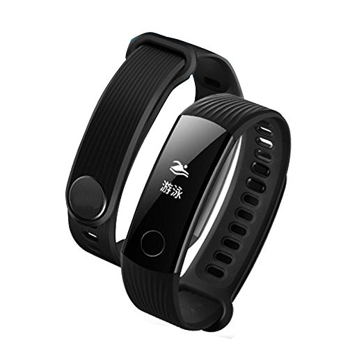 Auntwhale smart band Honor Band 3, Android,IOS,Waterproof 50m,Information Push,Standby 30 Days, Heart Rate Monitoring, Pedometer, Calories, Sleep Monitoring - Black by Auntwhale