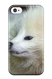 9250557K97659069 Premium Case With Scratch-resistant/ Raccoon Case Cover For Iphone 4/4s