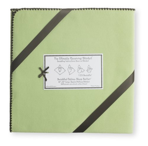 SwaddleDesigns Ultimate Swaddle Blanket Chocolate