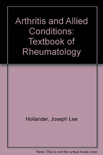 Arthritis and Allied Conditions: A Textbook of Rheumatology