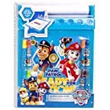 Paw Patrol Jumbo Roll and Go Childrens Art Desk Markers Colouring Roll