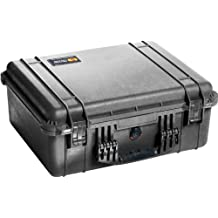 Pelican 1550 Shipping Case without Foam (Black)
