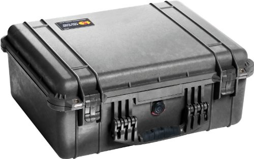 Pelican 1550 Case No Foam (Black) by Pelican