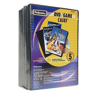 Fellowes DVD/Game CD Replacement Cases