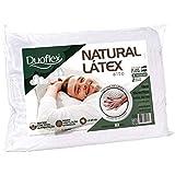 Travesseiro Natural Duoflex Branco 50cmx70cm Espuma 100% Látex