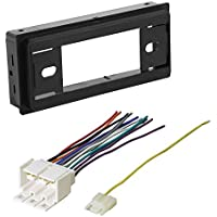 CAR RADIO STEREO RADIO KIT DASH INSTALLATION MOUNTING W/ WIRING HARNESS 1982 - 1991 BUICK CADILLAC CHEVROLET GMC OLDSMOBILE PONTIAC