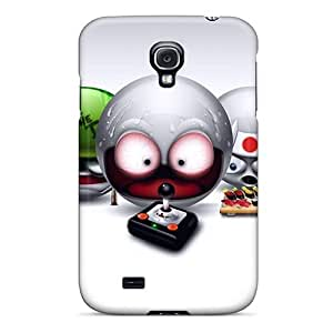 Tough Galaxy BOLPkrG8545UIjXR Case Cover/ Case For Galaxy S4(little Guys)