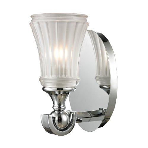 Elk Lighting 11680/1 Jayden Collection 1 Bath Light, Polished Chrome