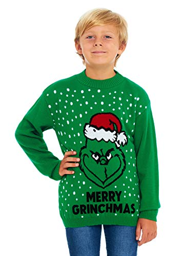 Elf HSA Girls Kids Boys Children Unisex Christmas Xmas Knitted Novelty Star Wars Football Jumper Sweater Christmas Xmas Exclusively to Ltd for Ages 2-14 Years Retro