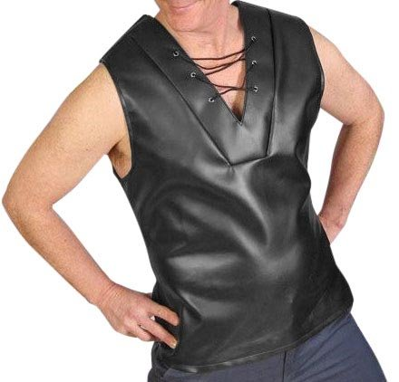 [HMS Men's Tv Reporter Vest, Black, one size] (Tv Reporter Halloween Costume)