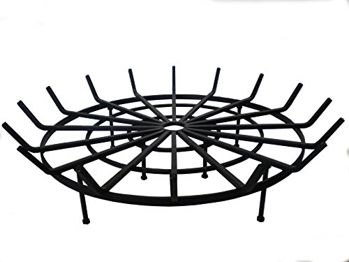 Cheap B & M SALES Round Spider Grate for Outdoor Fire Pit (34″ Diameter 6″ Legs)