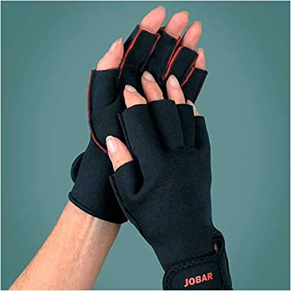 2 Men's Therapy Gloves for Men- Arthritis Wrist, Carpal Tunnel Gloves with  Hand Pain