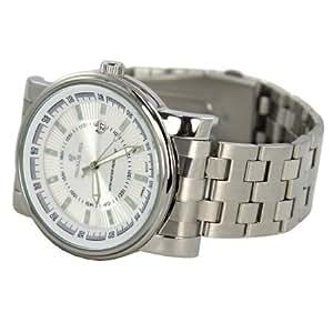 Charlie Jill WAT-1096M-WHT - Reloj de pulsera hombre