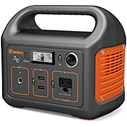 Jackery Portable Power Station Generator Explorer 240, 240Wh Emergency Backup Lithium Battery, 110V/200W (300W max.) Pure Sinewave AC Outlet, Solar Generator for CPAP Outdoors Camping Fishing Hunting