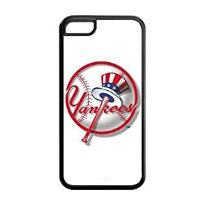MLB New York Yankees NYY TPU Case Back Cover For Iphone 5c iphone5c-NY355
