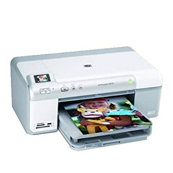 HP Impresora HP Photosmart D5460 - Impresora de tinta (600 x 600 ...