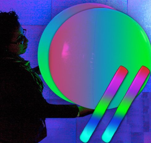 24 Giant Light Up Beach Balls product image