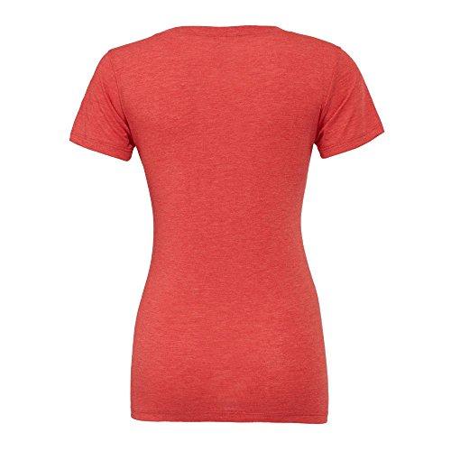 Bella+Canvas - Cameron - meliertes Vintage T-Shirt / Aqua, M