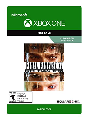 Final Fantasy XV: Digital Premium Edition - Xbox One Digital Code by Square Enix