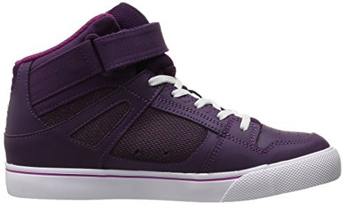 DC DCADBS300260 Youth Spartan High EV, Skaterschuhe Unisex-Kinder Violett