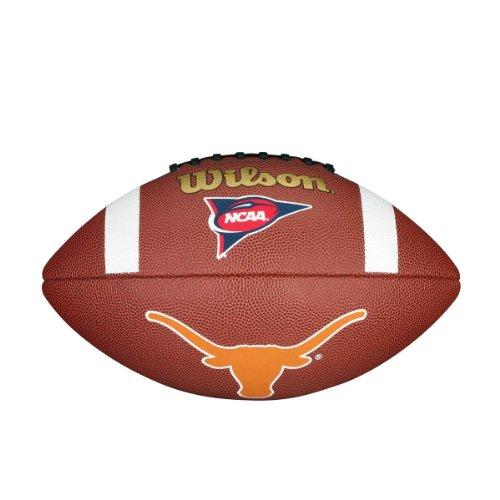 - Wilson NCAA Texas Longhorns Team Composite Football