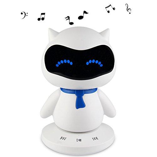Mini Portable Wireless Stereo Smart Bluetooth Speaker for Music Calls Creative]()