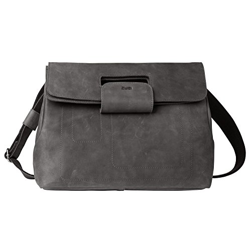 Adulto Ph7 In Tracolla Unica Pelle Taglia Unisex Due Black Marrone nbsp;borsa A Phil ZO6O8qT
