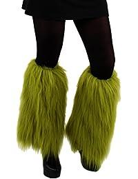 Fuzzy Leg Warmers