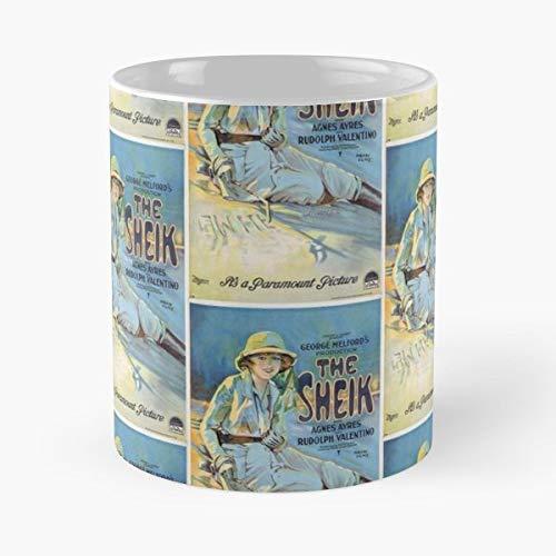 Rudolph Valentino Pathe Hollywood Coffee Mugs Best Gift 11 Oz ()