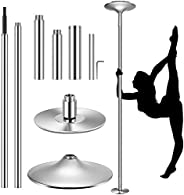 VIVOHOME Portable Spinning Dance Stripping Pole for Home Fitness